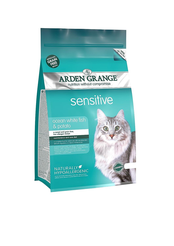 Arden Grange Adult Sensitive Dry Cat Food 4kg