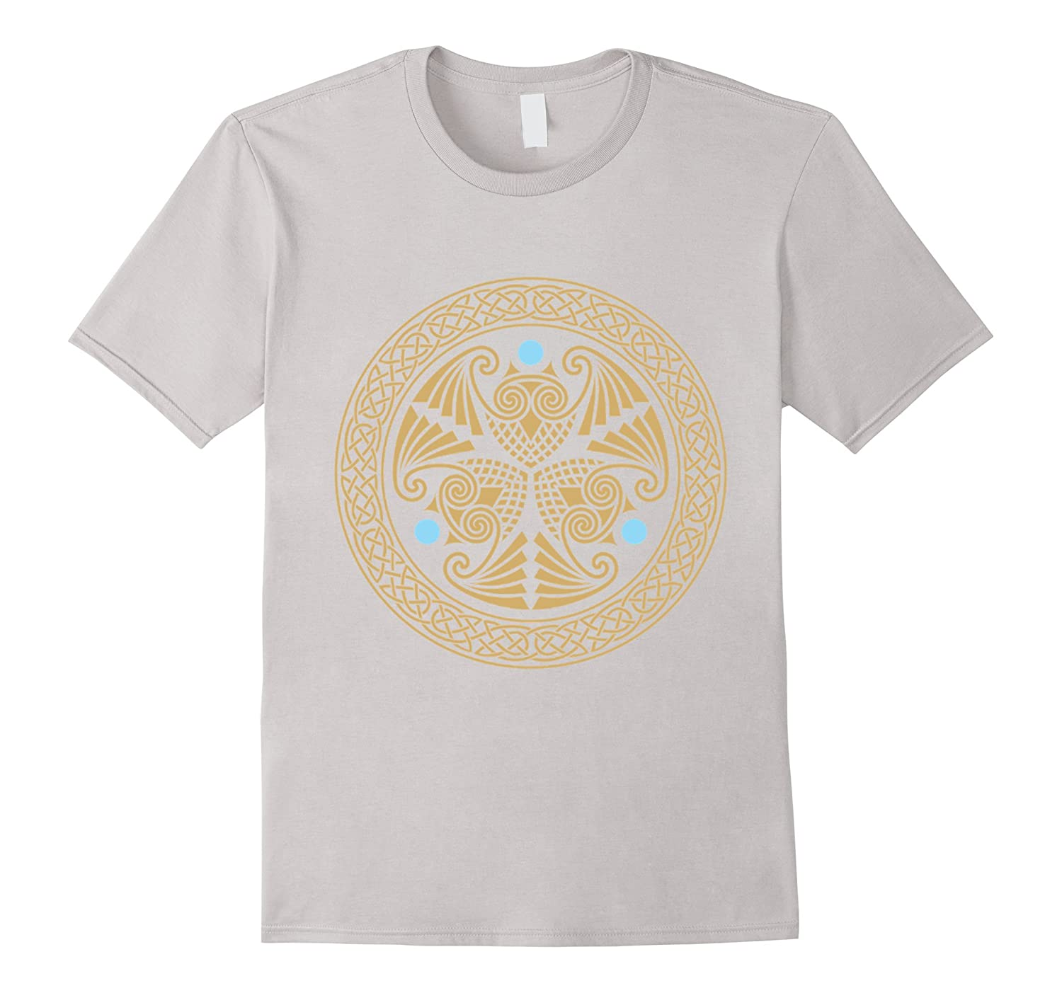 Celtic Owls Trio-T-Shirt