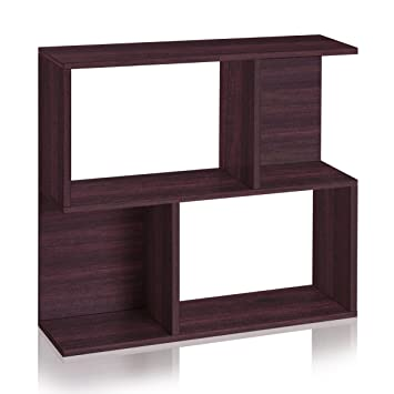 Way Basics Eco Soho Bookcase, Side Table And Storage Shelf, Espresso (made  From