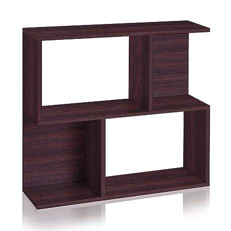 Plank Bookshelf Side Table