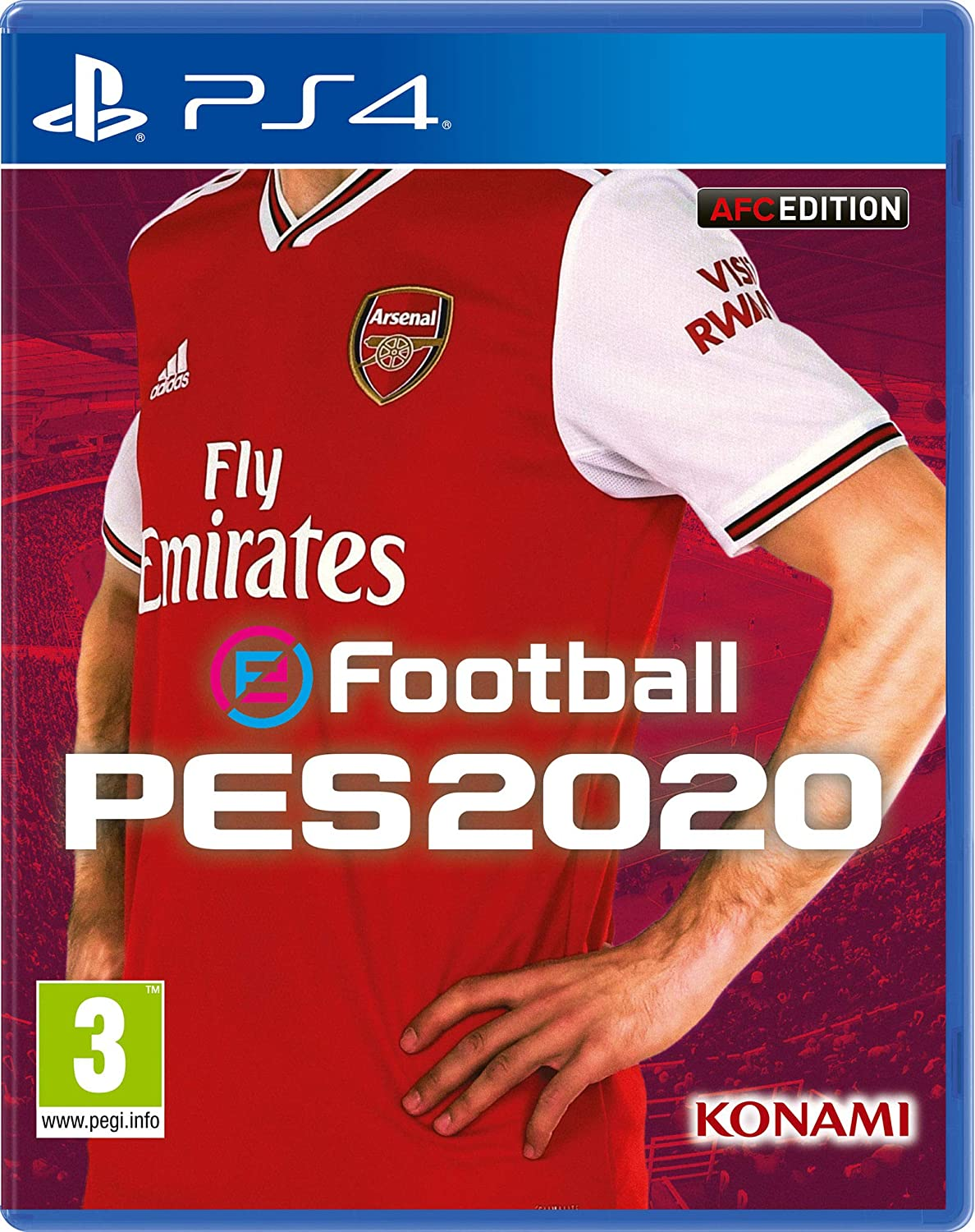 Efootball PES 2020 Arsenal FC Edition - Playstation 4 [Importación ...