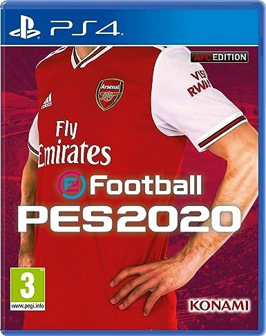 sale retailer c428c 1cffb Efootball PES 2020 Arsenal FC Edition (PS4): Amazon.co.uk ...