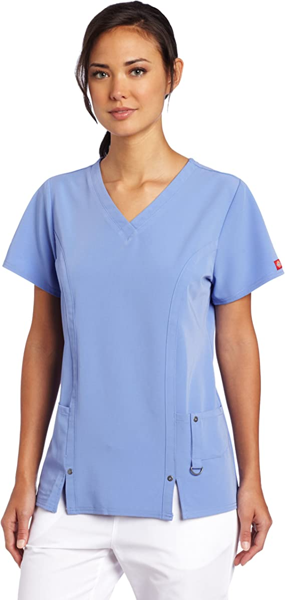 V-Neck Scrubs Shirt