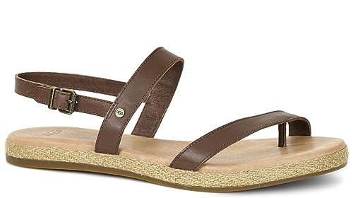 aba8f6e9467 UGG Brylee Single Strap Leather Slingback Women's Sandal. (7.5 ...