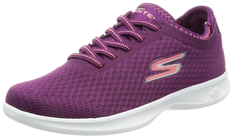 Skechers Damen Go Step Lite-Interstelllar Sneaker  7.5 B(M) US|Purple/Pink Mesh