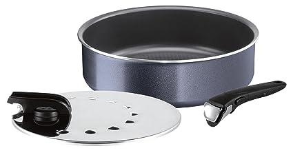 Tefal l2319102 Ingenio Elegance sartén y Tapa Aluminio Negro 26 cm