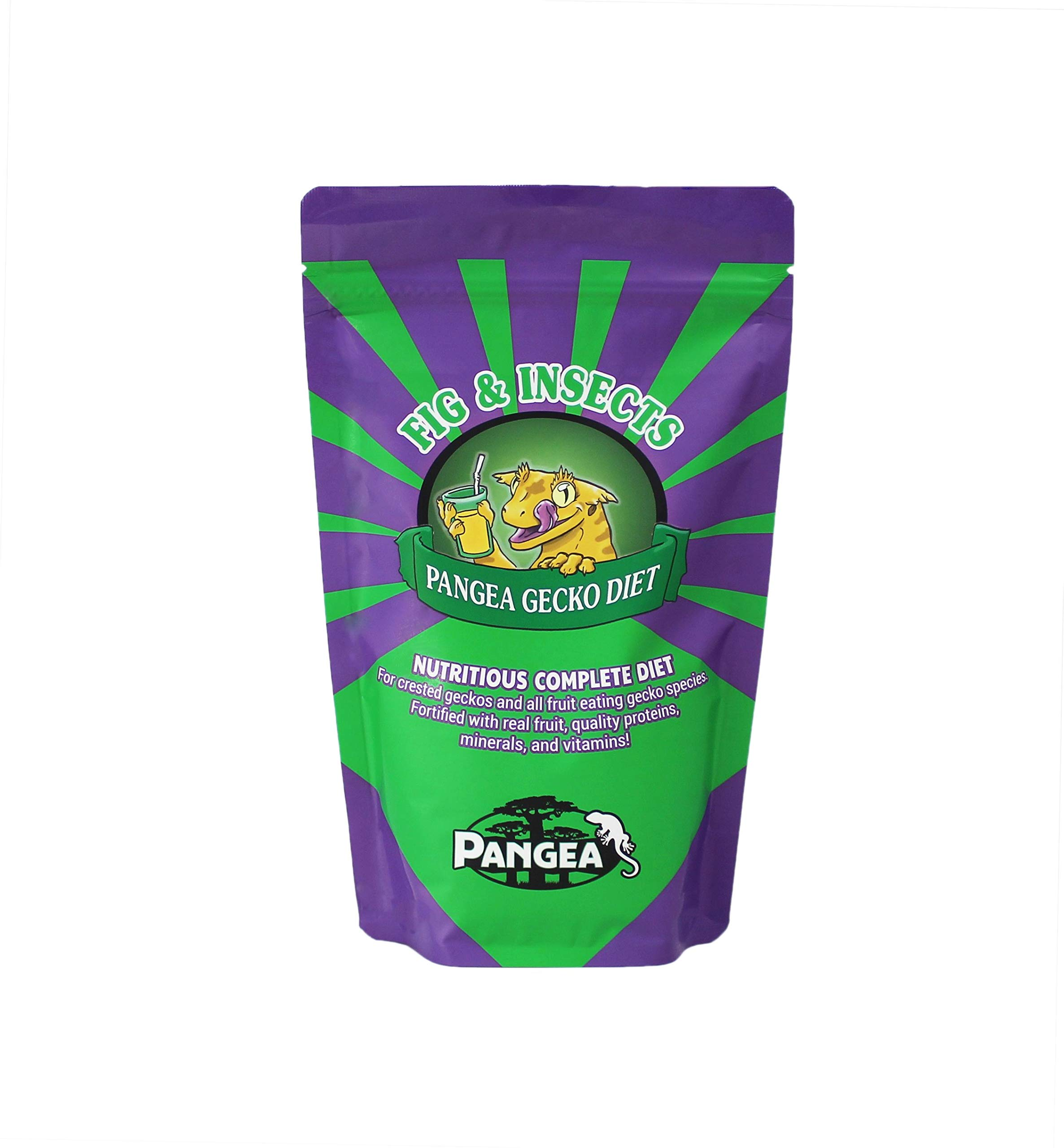 Pangea Fruit Mix Fig & Insects Crested Gecko Complete Diet (1 lb) by Pangea