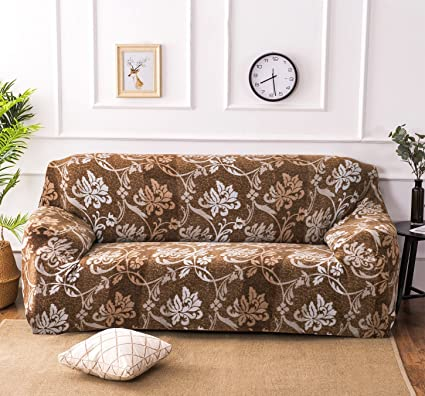 Amazon.com: NHockeric Plush Sofa Cover 1 2 3 4 Seater Sofa ...