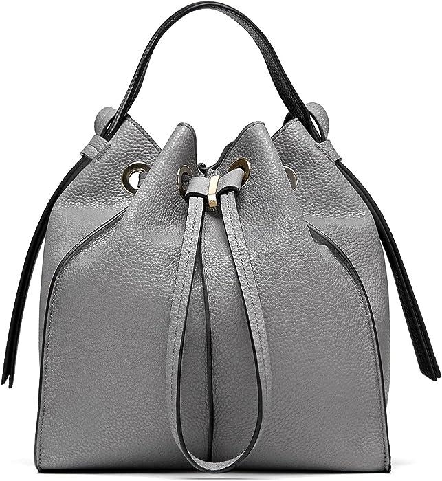 Zara - Bolso mochila de Poliéster para mujer Gris gris Medium