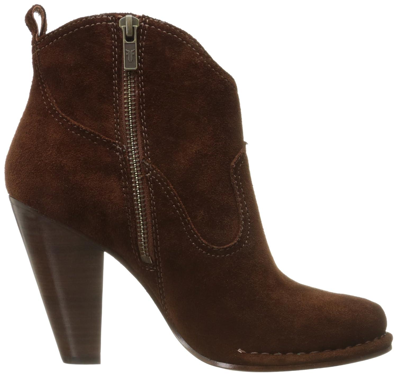 FRYE Women's Madeline Short Suede Boot B01A2SKWDE 8 B(M) US|Brown