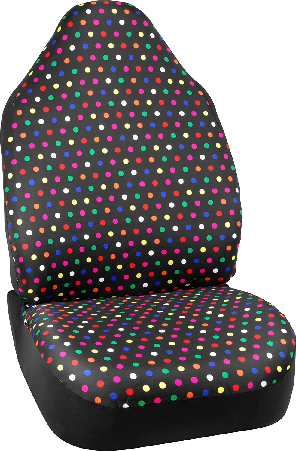 Bell Automotive 22-1-56803-8 Universal Smiley Face Emoji Seat Cover