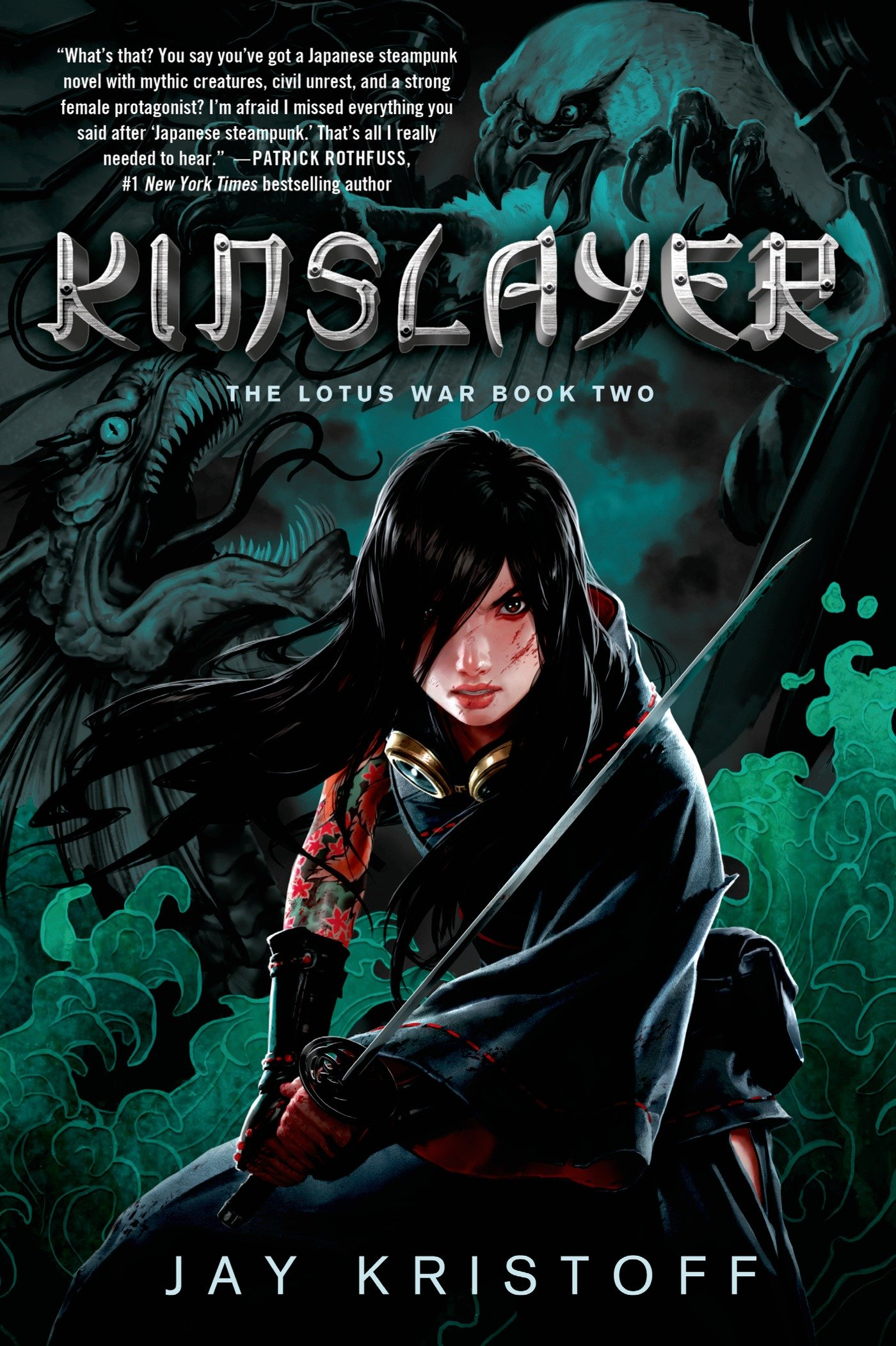 Image result for kinslayer book cover