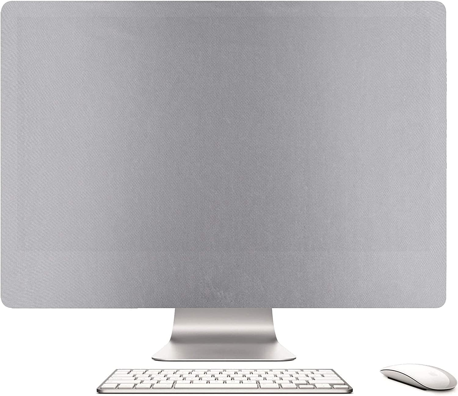 Keephic Dust Cover iMac Apple 21.5 inch Screen dust Cover Sleeve Display Monitor Protector for A1224 / A1311 / A1418 (27-inch, Silver)