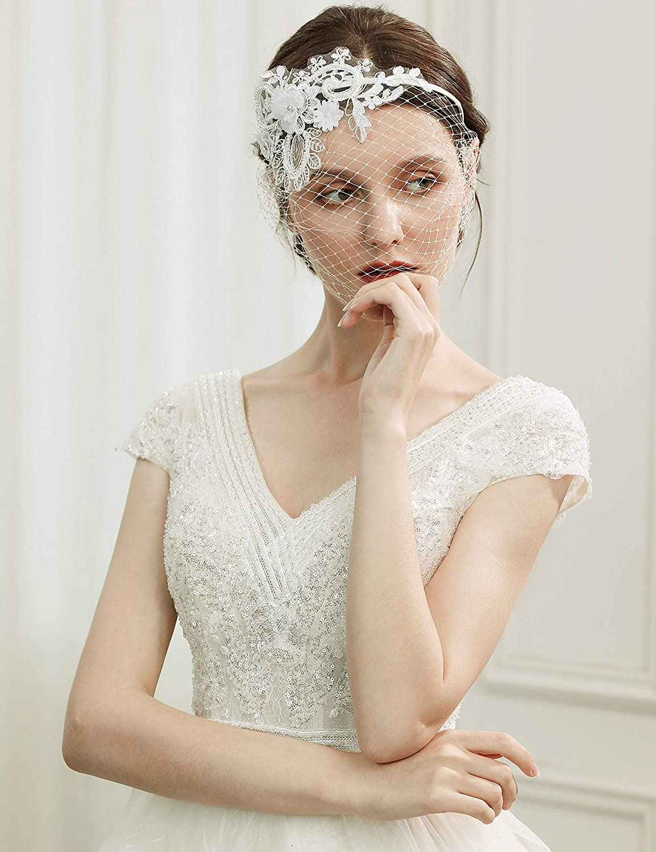 Hochzeit haarreif Tiara Diadem