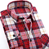 Ting room 2019 Spring Autumn Casual Long Sleeve Shirt Soft Comfort Slim Fit Styles Brand Man Clothes,DTF12,Asian Size M