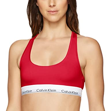 a3adf8deb8 Image Unavailable. Image not available for. Colour  Calvin Klein Women s  Modern Cotton Bralette Bra