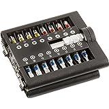 kwb Bit-Set mit Magnet-Bithalter – 31-teilig mit 1/4 Zoll Außen-Sechskant nach ISO 1173 und C 6.3 Form
