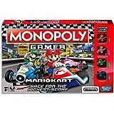 Monopoly - Nintendo Super Mario Kart inc Mario, Luigi, Toad & Princess Peach - 2 to 4 Players - Kids Board Games - Ages 8+