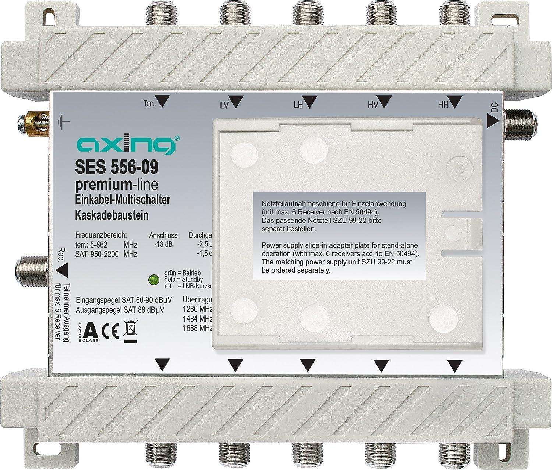 Axing Ses 556 09 Sat Einkabel Multischalter Kaskade 6 Elektronik