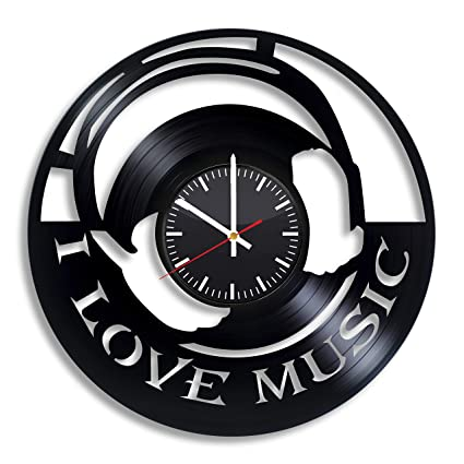 Amazon.com: Good Idea Crafts I Music Wall Clock Art ... on ideas to decorate your kitchen, candles for kitchen, wall decorations for kitchen, home decoration for kitchen, sport ideas for kitchen, home decor kitchen, storage ideas for kitchen, flooring ideas for kitchen, christmas crafts for kitchen, food for kitchen, kitchen ideas for kitchen, party for kitchen, desk ideas for kitchen, dorm room ideas for kitchen, faux painting ideas for kitchen, vintage ideas for kitchen, cute ideas for kitchen, diy for kitchen, paint ideas for kitchen, home ideas for kitchen,