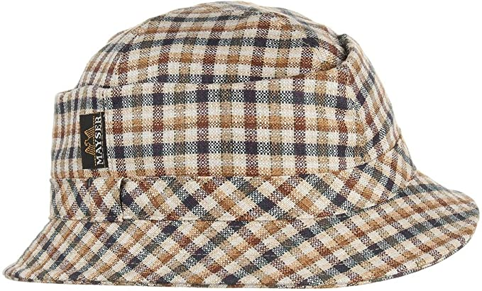 Carlo Cappello Estivo Mayser cappelli a quadri cappelli estivi 62 cm , beige