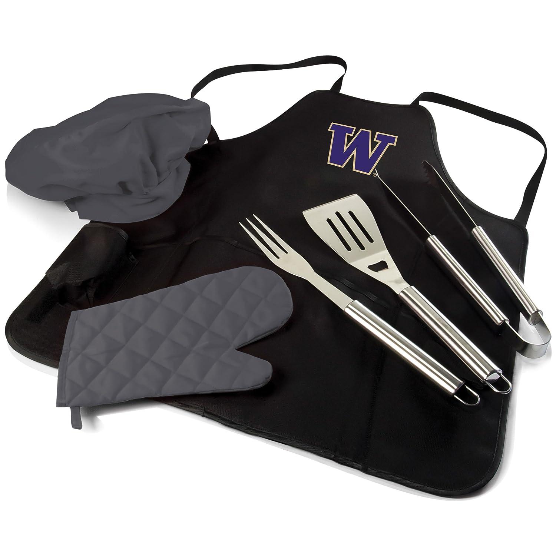 NCAA Washington Huskies BBQエプロントートバッグPro B00NQ9AEVM