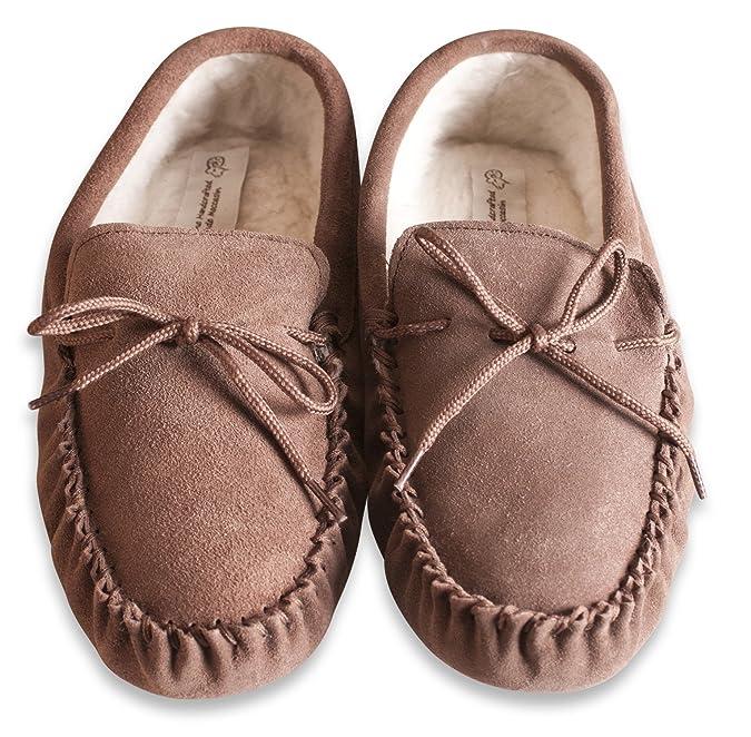 Nordvek - Pantoufles doublées style mocassins - homme - daim laine -    423-100  Amazon.fr  Chaussures et Sacs fdf6a186228c