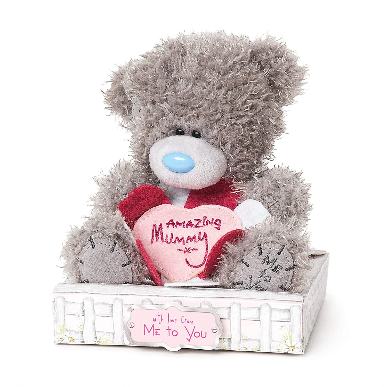 Me to You Personalised Plush Flower Girl Bear Gift Tatty Teddy Bear
