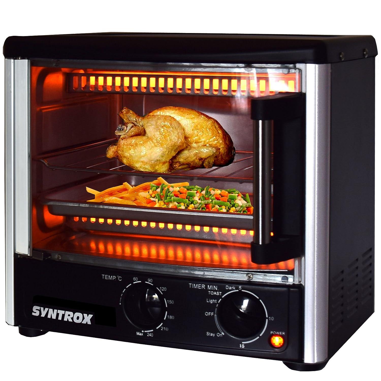 Amazon Syntrox Germany Back Chef 14 Liter Mini Stand Backofen