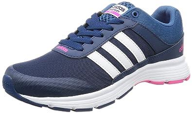 best sneakers f08ae 9f51a adidas Damen Cloudfoam Vs City W Turnschuhe, Blau (Azumis ftwbla Rosimp)