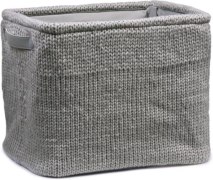 Zeller 14153 - Caja para almacenaje (36 x 26 x 30 cm), diseño Bordado: Amazon.es: Hogar