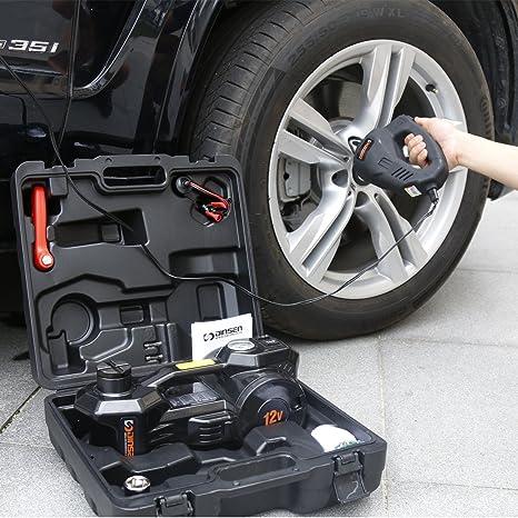 Gato hidráulico eléctrico Dinsen para coche ...