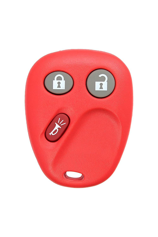 新しいlhj011 Complete WorkingリモートreplacemyremoteキーレスエントリリモートコントロールカーキーFob交換用for FCC ID : lhj011 S ブラック LHJ011 B01FT47TZ0  レッド