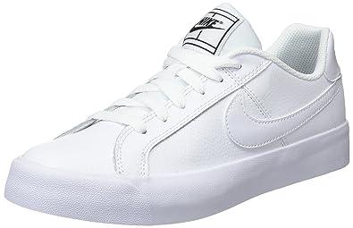 online retailer c0185 14c6c Nike Court Royale Ac, Women s Sneakers, Multicolour (White Black 102),