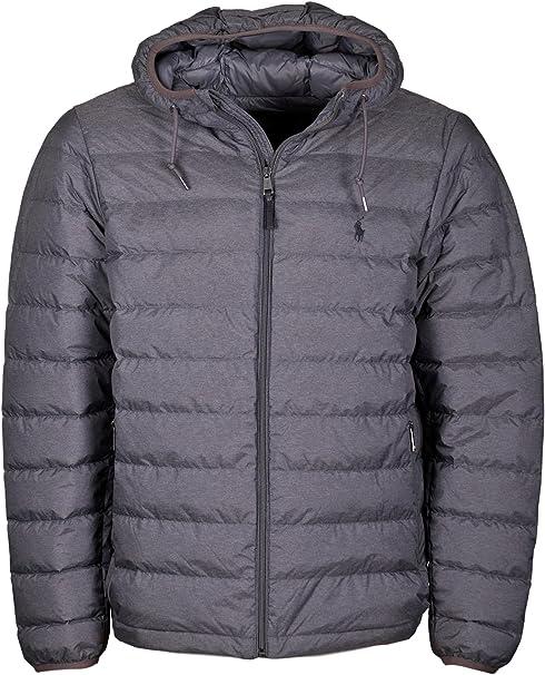 Polo Ralph Lauren Fill Jacket Grigio Uomo S: Amazon.es: Ropa y ...