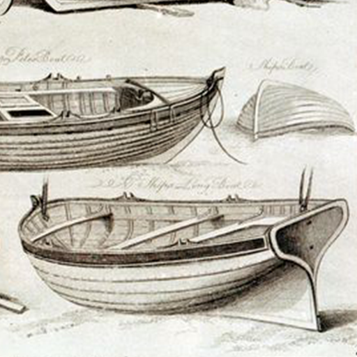 Bass boat drawing