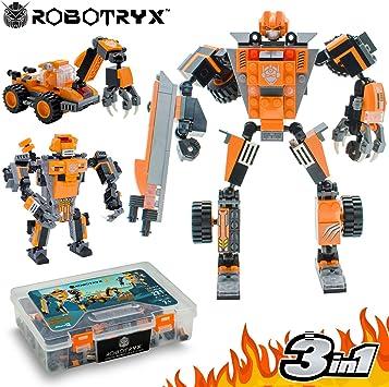 JITTERYGIT Juguete Robot Stem | Divertido Juego Creativo 3 en 1 | Juguetes de construcción para