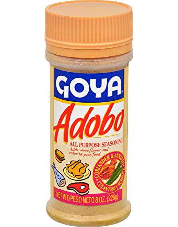 Goya Foods Adobo All Purpose Seasoning with Coriander & Annatto, 8 Ounce (Pack of