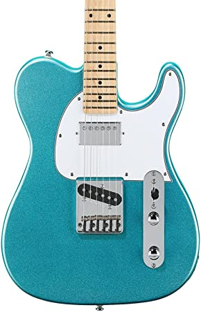 G & L edición limitada homenaje antisatélite Classic Bluesboy guitarra eléctrica turquesa Mist