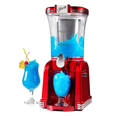 Nostalgia RSM650 32- Ounce Slush Drink Maker, Retro Red
