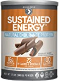 Designer Protein Sustained Energy Natural Endurance Protein , Chocolate Velvet, 12 Ounce
