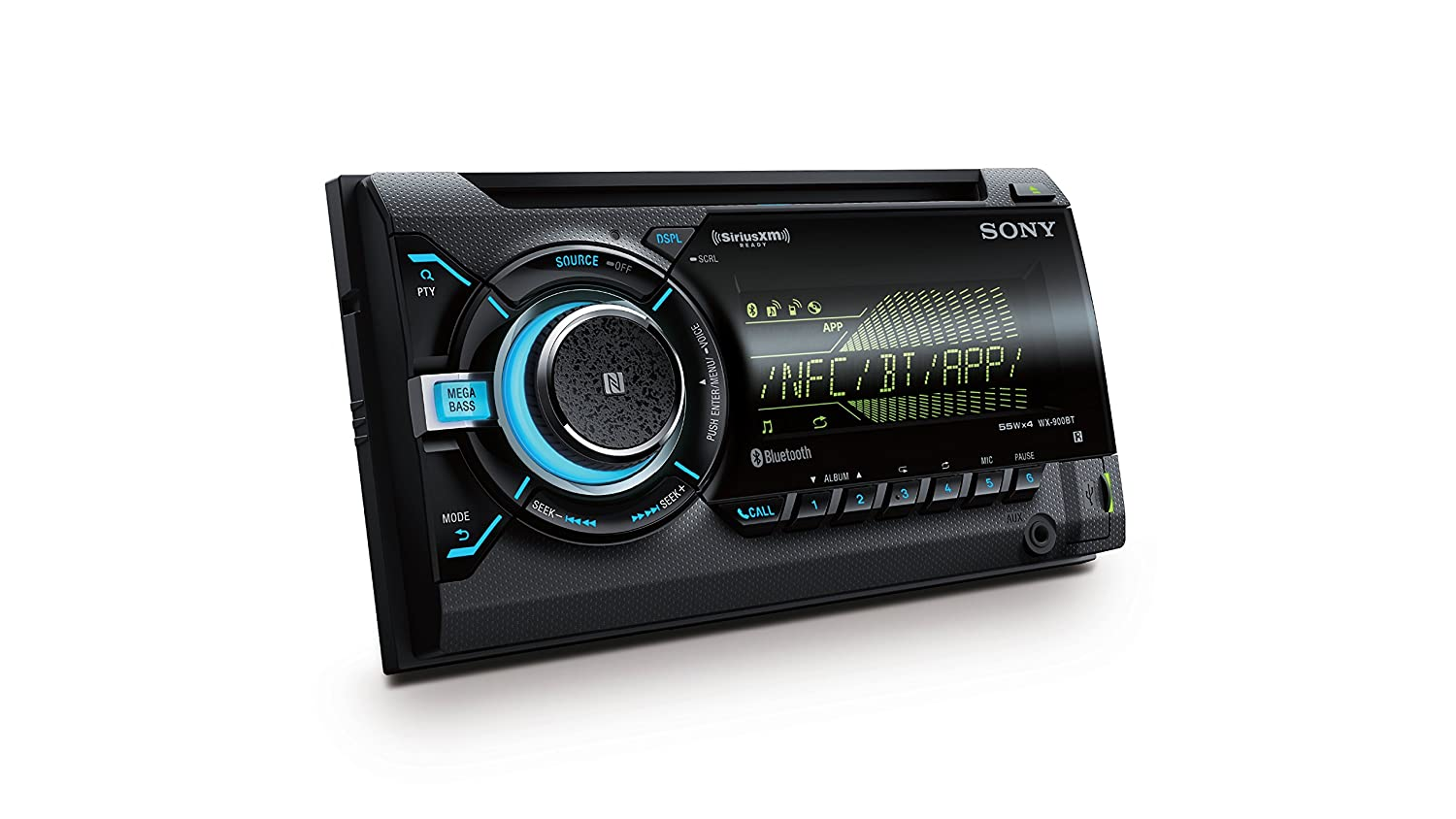 Of the line double din touch screen car stereos from pioneer and sony - Amazon Com Sony Wx900bt 2 Din Cd Receiver With Bluetooth Black Car Electronics