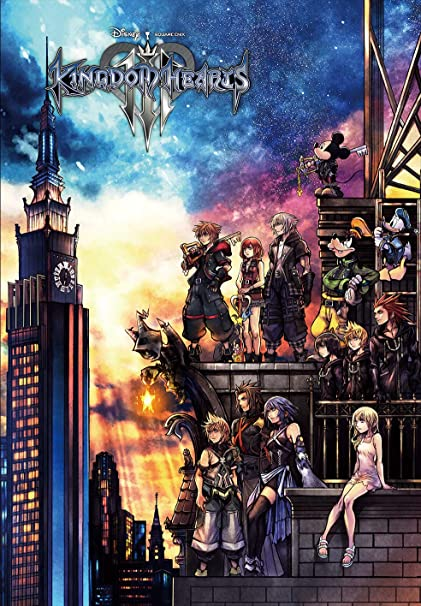 Kingdom Hearts 3 Puzzle 51x73.5cm 1000 Pieces
