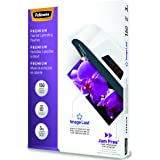 Fellowes Thermal Laminating Pouches, ImageLast, Jam Free, Letter Size, 3 Mil, 150 Pack (5200509)