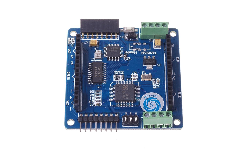 8 full-color RGB LED lattice screen Arduino driver board perfect support 16 million colors SMAKN/® Colorduino 8