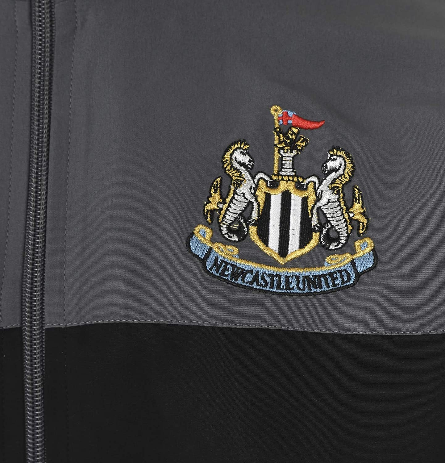 Newcastle United FC Official Football Gift Mens Jacket /& Pants Tracksuit Set