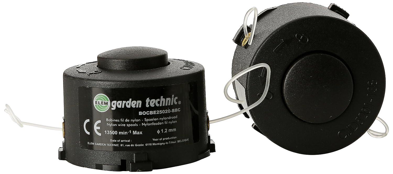 Elem Garden Technic BOCBE25020-2BBC - Set di 2 bobine per tagliabordi CBE25020