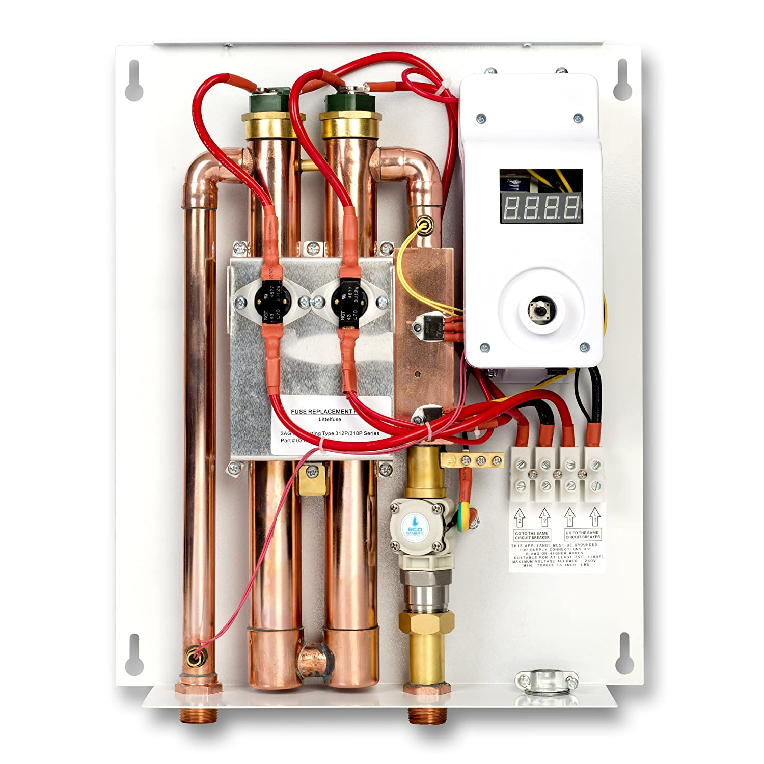81Tny3DEHPL._SL1500_ ecosmart eco 18 electric tankless water heater, 18 kw at 240 volts rheem rete 27 wiring diagram at couponss.co