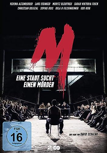 Cover: M - Eine Stadt sucht einen Mörder (2019) 2 DVDs (circa 292 min + Extras)