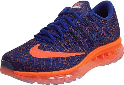 Nike Air MAX 2016 Print, Zapatillas de Running para Hombre, Naranja (Concord/Total Crimson), 47 EU: Amazon.es: Zapatos y complementos